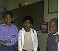 School children (Lukhanyo Primary School, Zwelihle Township (Hermanus, South Africa) 06.jpg