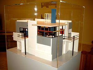 Rietveld Schröder House - Maquette, ca 1985