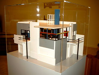 Rietveld Schröder House - Architectural model, ca 1985