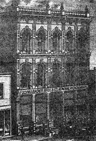 William E. Boone - Schwabacher Building (1883, Destroyed)