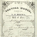 Scovill House restaurant menu (March 4, 1859).jpg