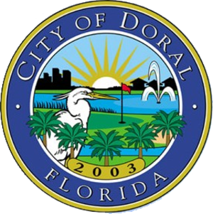 Doral, Florida - Image: Seal of Doral, Florida