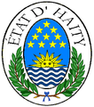 Seal of the State of Haity (Haiti), 1807-1811.png