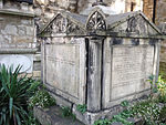 Tomb of William Sealy in St Mary's Churchyard