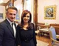 Sean Penn with Cristina Fernández.jpg