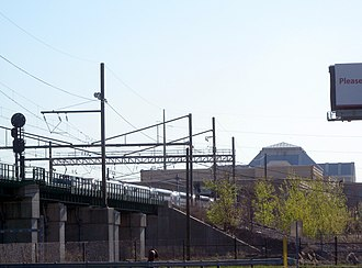 Gateway Program (Northeast Corridor) - The right-of-way would parallel the NEC and pass through Secaucus Junction
