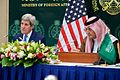 Secretary Kerry Addresses Reporters During News Conference With Foreign Minister al-Faisal Following Meetings in Saudi Arabia.jpg