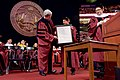 Secretary Kerry Receives a Certificate of Appreciate Before Delivering the Commencement Address for Northeastern University's Class of 2016 in Boston (26247688874).jpg