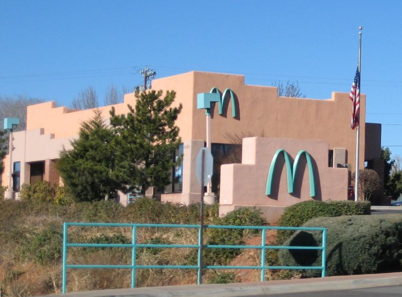 File:SedonaAZ McDonaldsTurquoiseArches.jpg