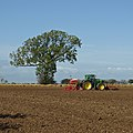 Seed Drilling on Saxby Wolds - geograph.org.uk - 2635638.jpg
