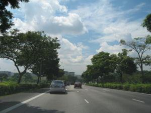 Seletar Expressway - Seletar Expressway eastbound towards Tampines Expressway before Woodlands Avenue 2 exit.