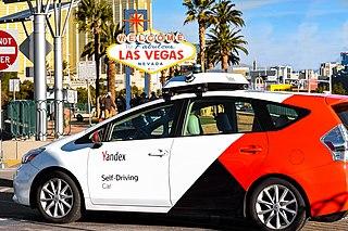 Yandex self-driving car Robotaxi project