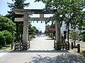 Sendai Tōshō-gū torii backside.jpg