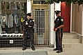 Sfpd police officers ishootwindows, castro street fair (2011) (6210205048).jpg