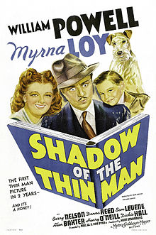 Image of the film poster showing Myrna Loy and William Powell