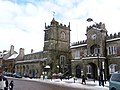 Shaftesbury, town centre in snow - geograph.org.uk - 1153174.jpg