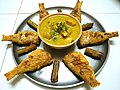 Shark fish curry & rani maasa fry with drumsticks.jpg