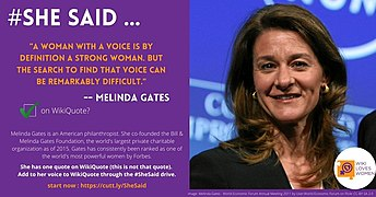 SheSaid campaign quoting Melinda Gates.jpg