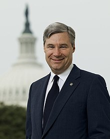 Portrait officiel de Sheldon Whitehouse.