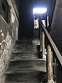 Shibram Chakraborty's paying guesthouse - Stair 01.jpg