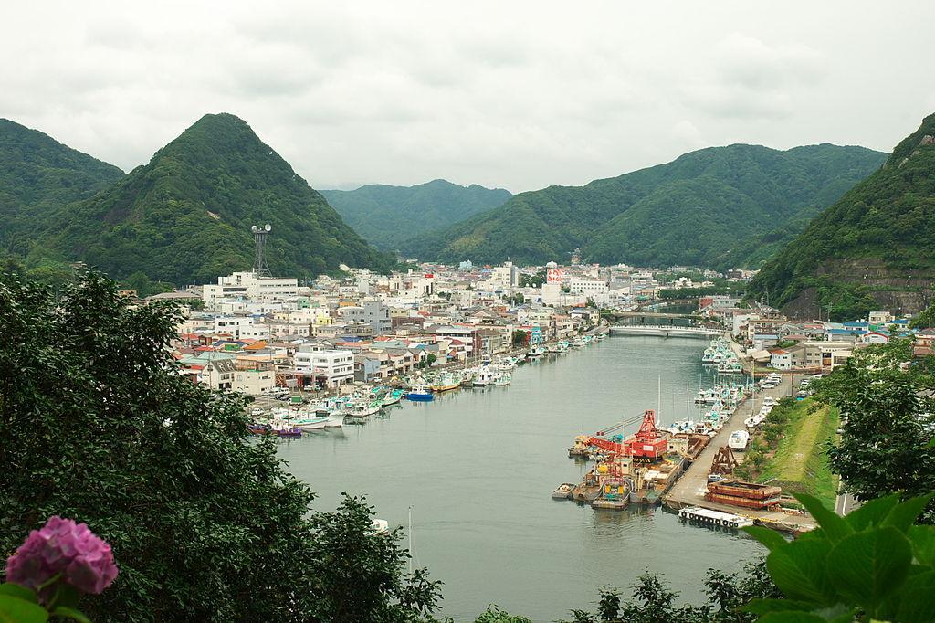 Shimoda view 展望台からの下田の眺め (2639974699)