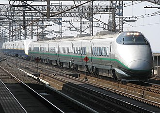Tsubasa (train) - Image: Shinkansen 400 Tsubasa