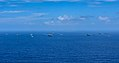 Ships sail in formation during Malabar 2018.jpg