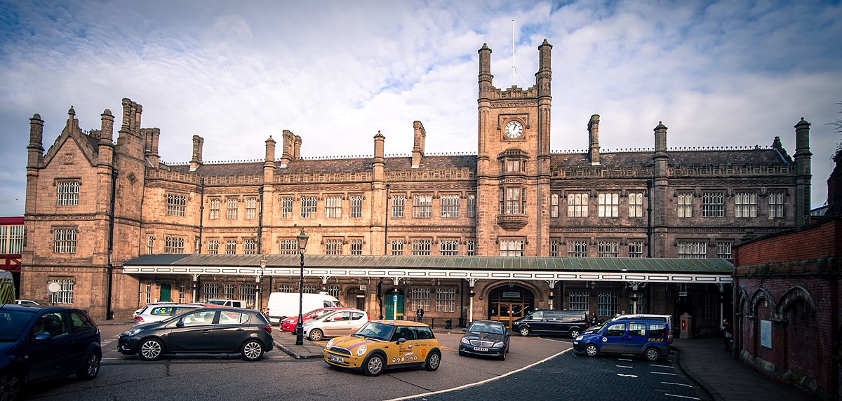 M S Shrewsbury Shrewsbury railway sta...