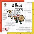 Si Delos, Mascot of Depok 2020 Regional Election.jpg