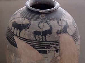 Persian pottery - Pottery Vessel, 4th millennium BC