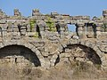 Side, Turecko - vnější opevnění antického města.jpg