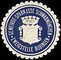 Siegelmarke Gemeinde-Sparkasse Schwabmünchen - Zweigstelle Bobingen W0261802.jpg
