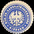 Siegelmarke Königlich Preussischer Landrath des Kreises - Gifhorn W0217577.jpg