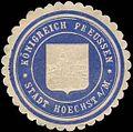 Siegelmarke Königreich Preussen - Stadt Höchst am Main W0239531.jpg