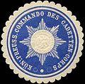 Siegelmarke K.Pr. Commando des Cadetten-Corps W0283619.jpg