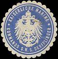 Siegelmarke K. Marine Kommando S.M.S. Derfflinger W0363997.jpg