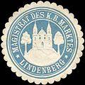 Siegelmarke Magistrat des Königlich Bayerischen Marktes - Lindenberg W0261608.jpg