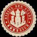 Siegelmarke Siegel der Stadt - Emmerich W0260547.jpg