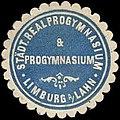 Siegelmarke Städtisches Realprogymnasium & Progymnasium - Limburg an der Lahn W0245955.jpg