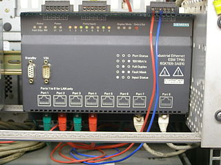 Industrial Ethernet Use of Ethernet in an industrial environment
