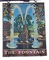 Sign for the Fountain Inn, Rowlands Castle - geograph.org.uk - 853769.jpg