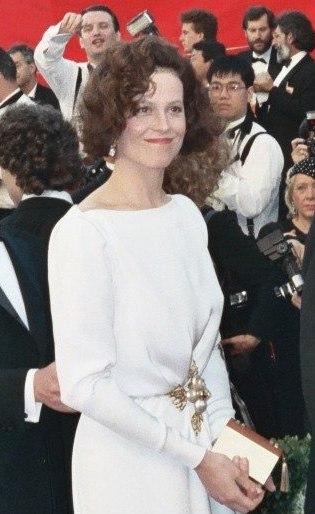 Sigourney Weaver 1989 Academy Awards
