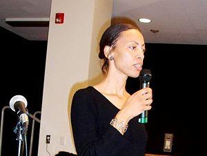 Sikivu Hutchinson - Image: Sikivu @ Women's Conference Cropped (2)