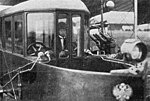 Sikorsky Le Grand cabin with Sikorsky L'Aerophile 1 September 1913 (crop, grayscale, contrast stretch).jpg
