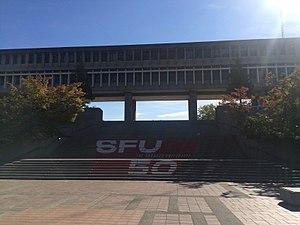 Faculty of Communication, Art and Technology at Simon Fraser University - Convocation Mall, Simon Fraser University