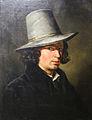 Simon Meister, Selbstbildnis mit Hut (1832).jpg