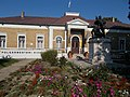 Simontornya Town Hall and WWI memorial. Listed ID -3298 and -3299.JPG