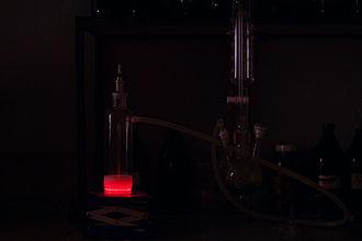 Singlet oxygen - Image: Singlet oxygen Glow