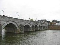 Saint Servatius bridge, the oldest bridge of the Netherlands