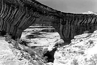 San Juan County, Utah - Sipapu Bridge, in Natural Bridges National Monument